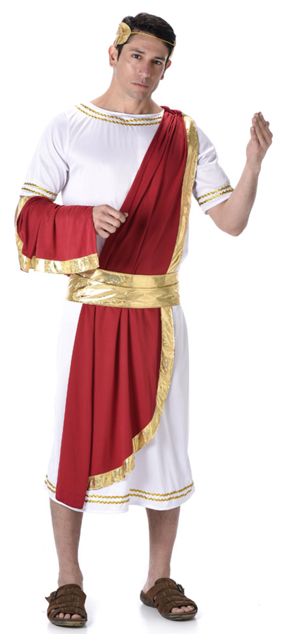 Roman Emperor Mens Costume  sc 1 st  Mega Fancy Dress & Greek u0026 Roman Costumes | Mega Fancy Dress
