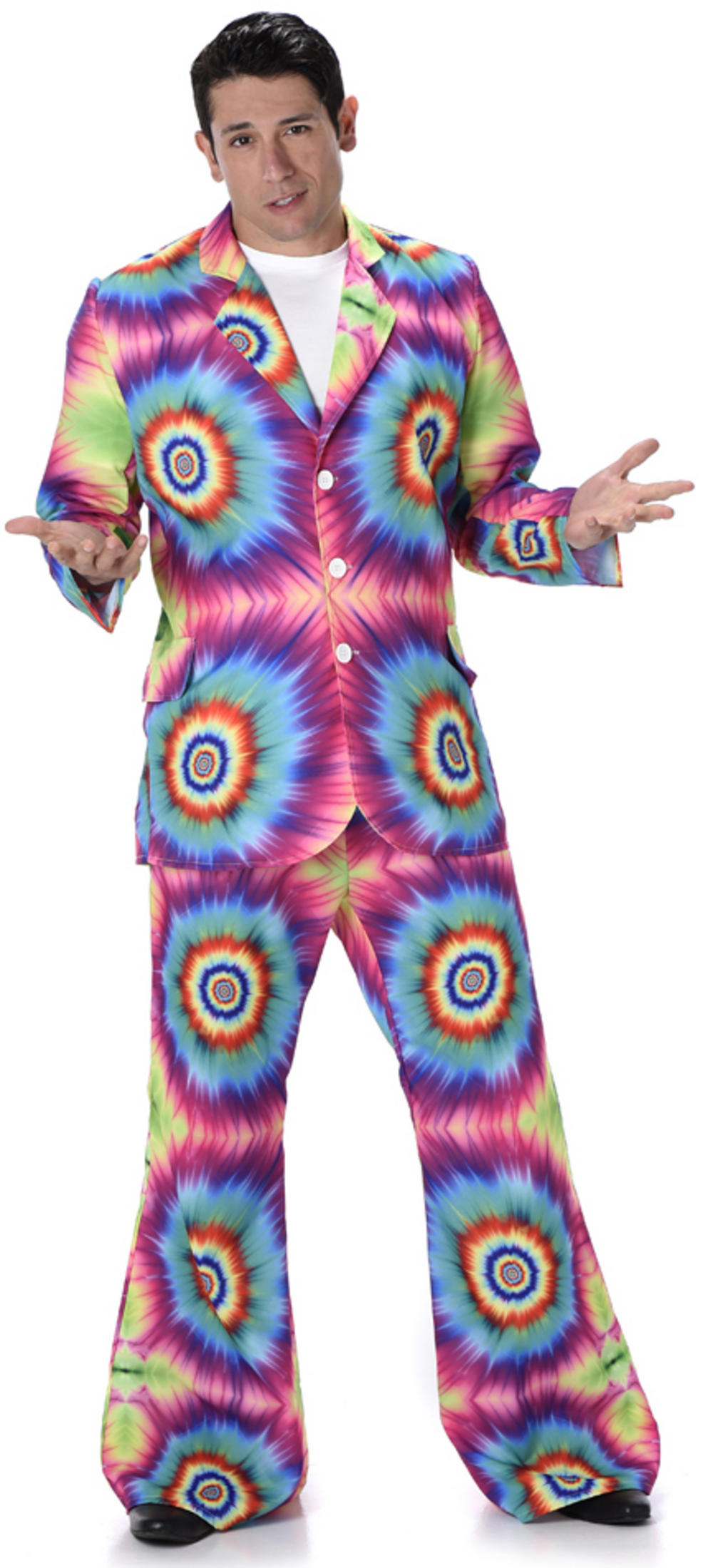 Tie Dye Suit Mens Costume