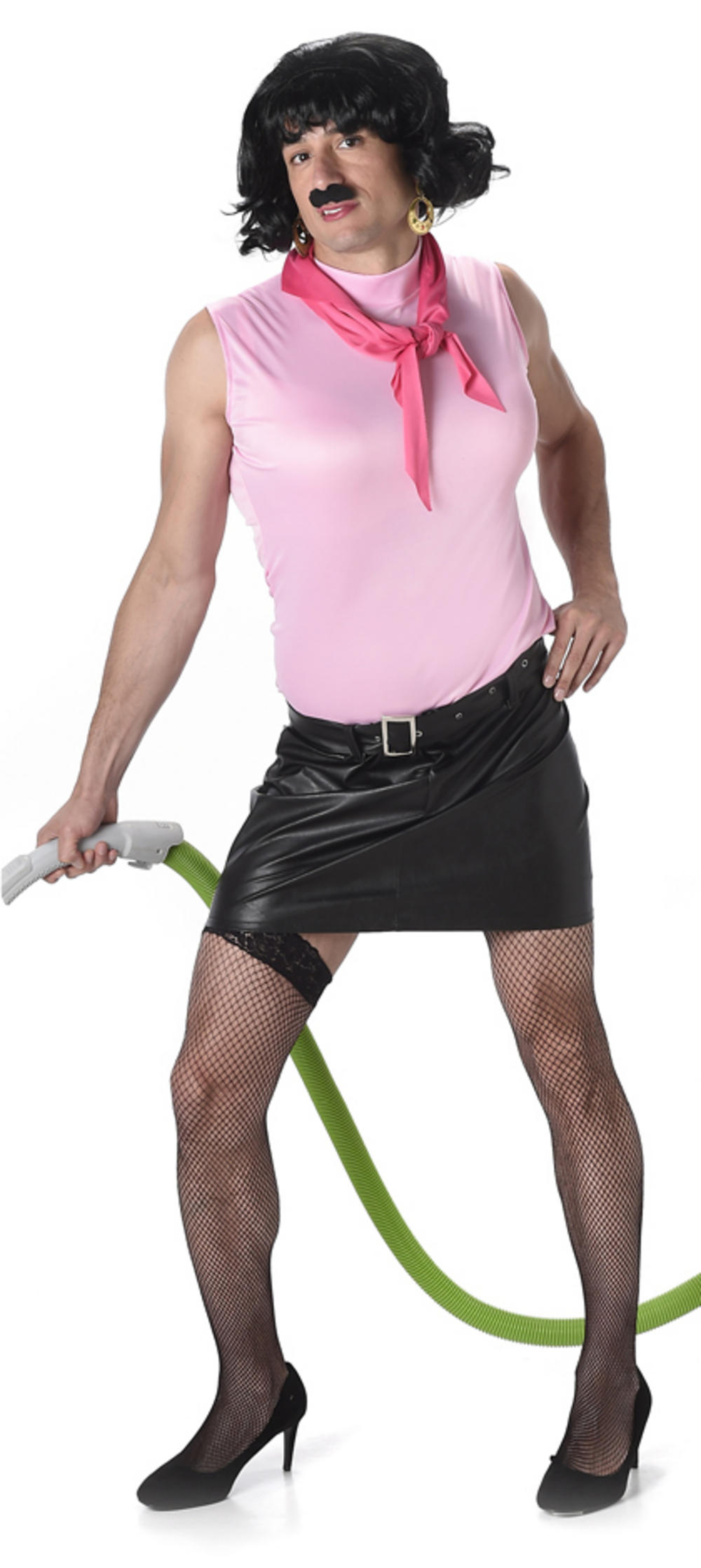 Rock n Roll Housewife Mens Costume