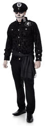 Zombie Officer Mens Costume