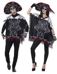 Day of the Dead Bandit Adults Costume