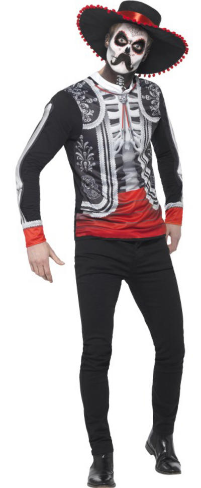 Day of the Dead El Senor Mens Costume