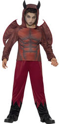 Deluxe Devil Boys Costume