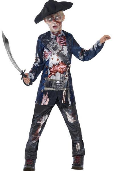 Deluxe Jolly Rotten Priate Boys Costume