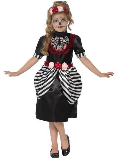 Sugar Skull Girls Costume