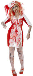 Curves Zombie Nurse Ladies Costume