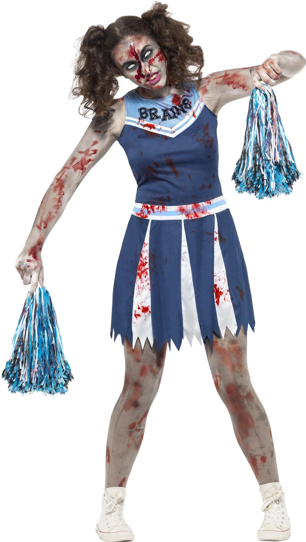 Zombie Cheerleader Teens Costume