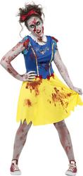 Zombie Miss Snow Ladies Costume