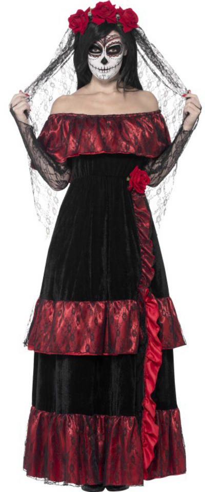 Day of the Dead Bride Ladies Costume