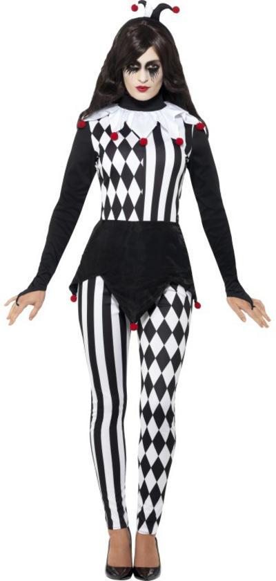 Female Jester Ladies Costume