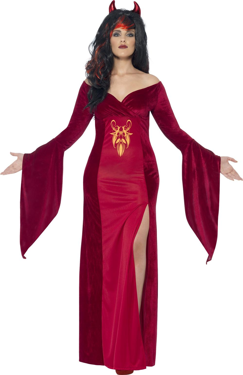 Curves Devil Ladies Costume