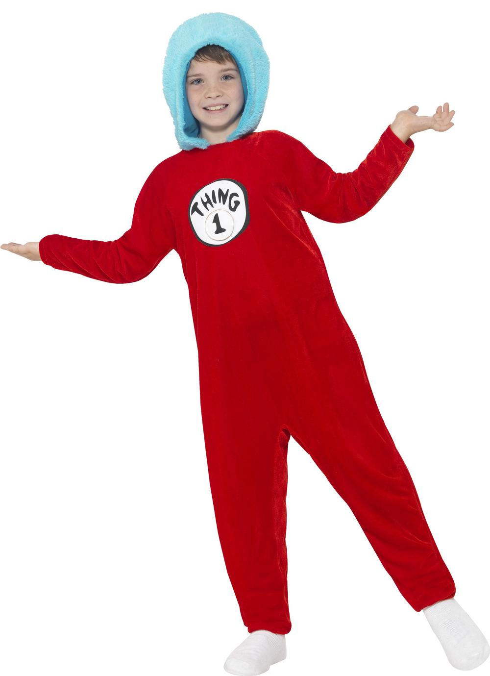 Thing 1 or Thing 2 Boys Costume