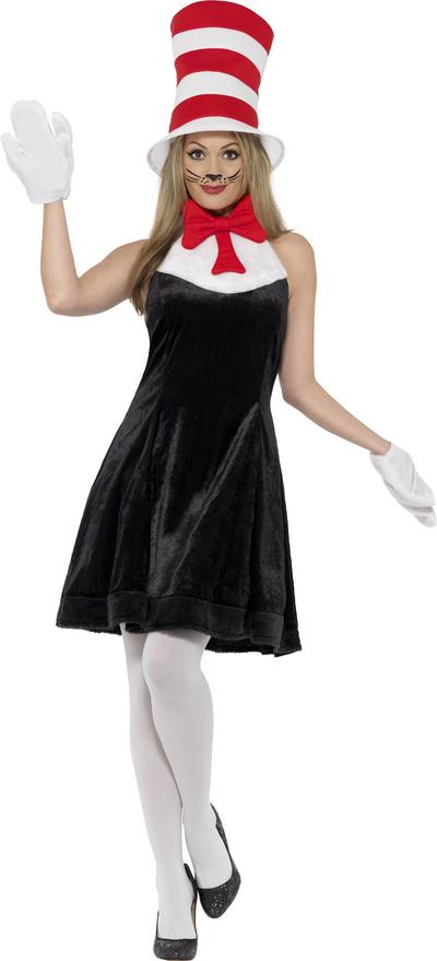 Cat in the Hat Ladies Costume