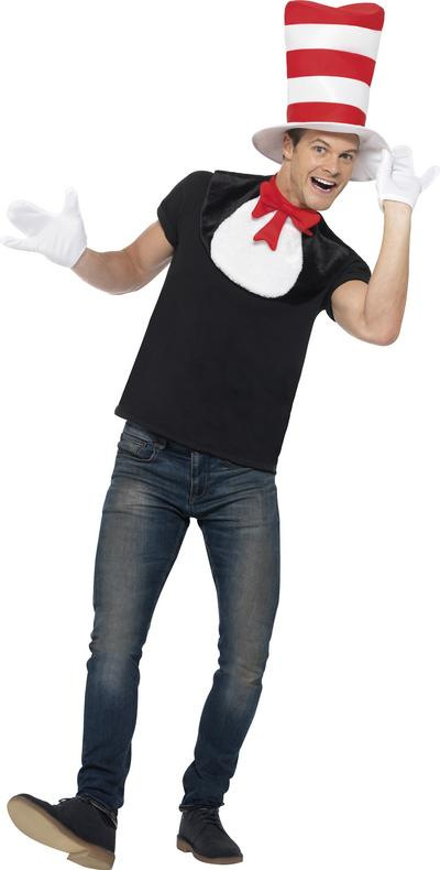 Cat in the Hat Adults Costume Kit