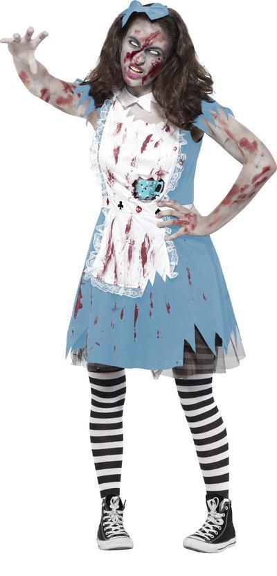 Zombie Tea Party Teens Costume