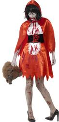 Zombie Little Miss Hood Ladies Costume