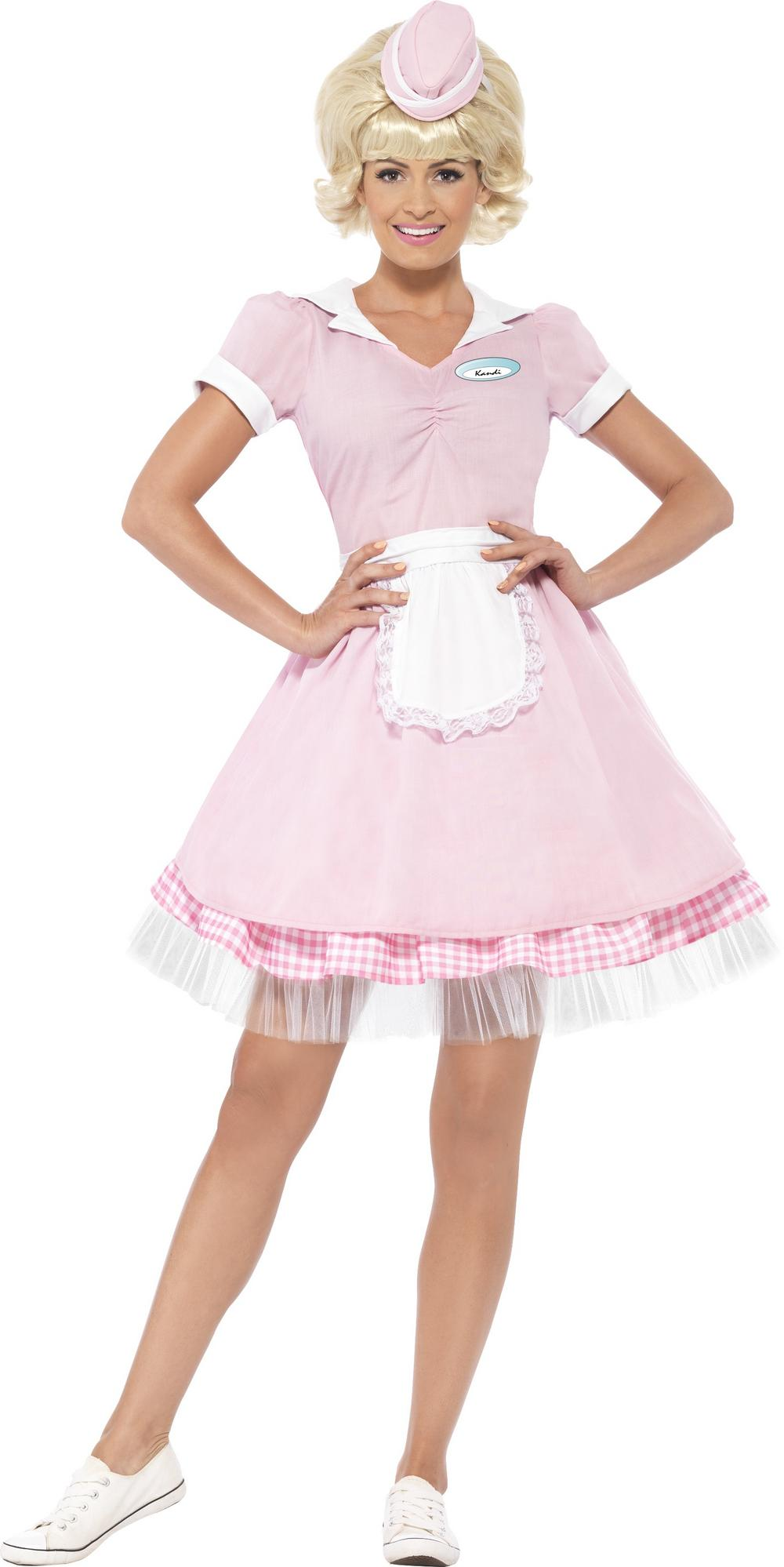 50s Diner Girl Ladies Costume