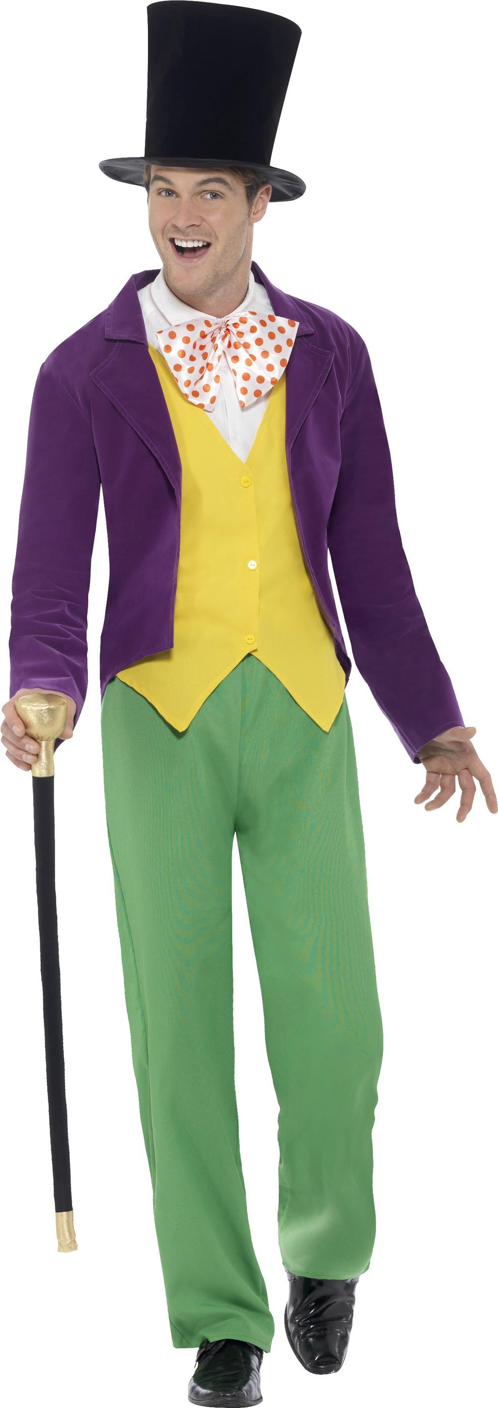 Roald Dahl Willy Wonka Mens Costume