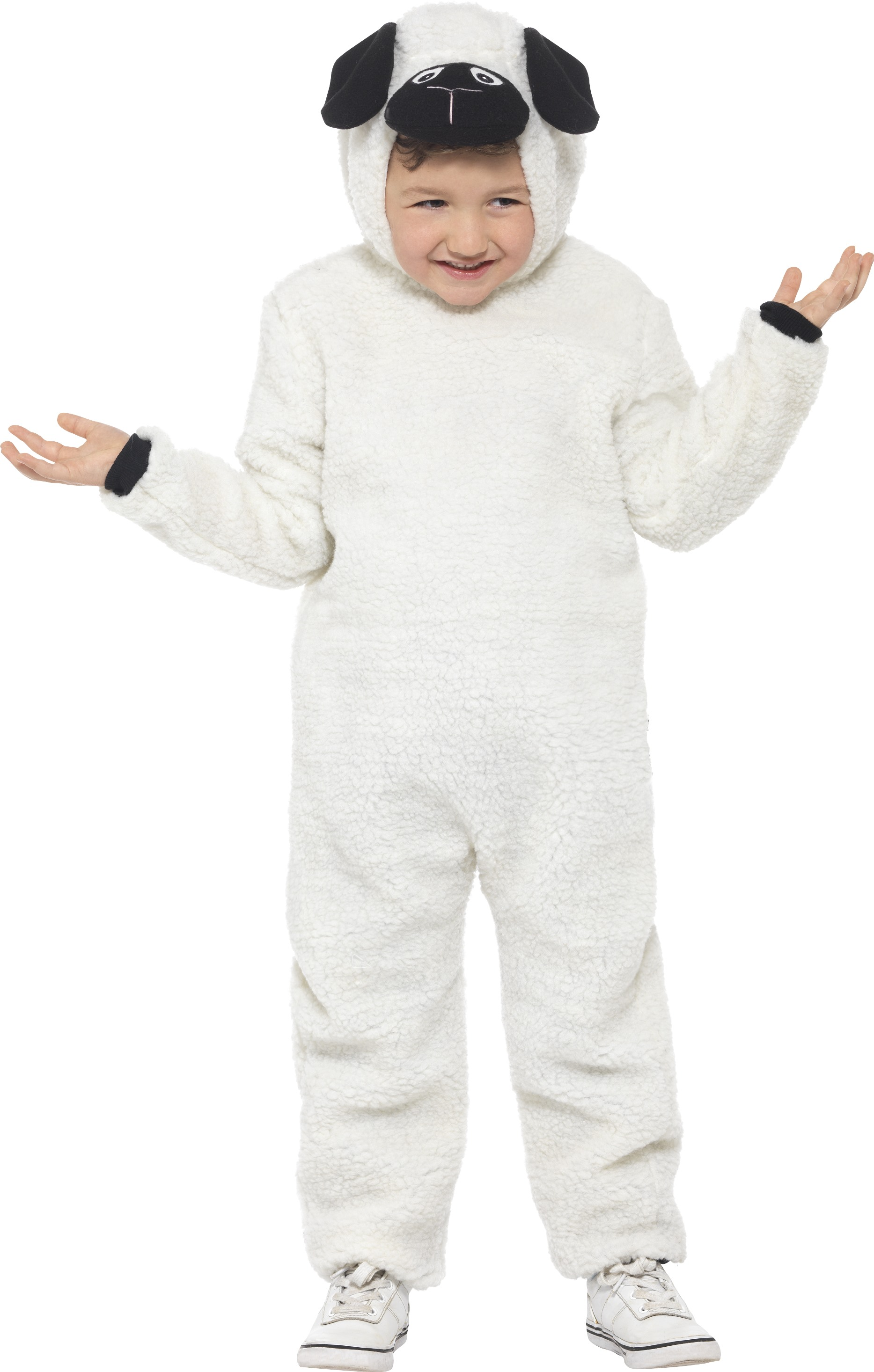 Adult Lamb Sheep Costume Mens Animal Farm Easter Funny Fancy Dress Outfit