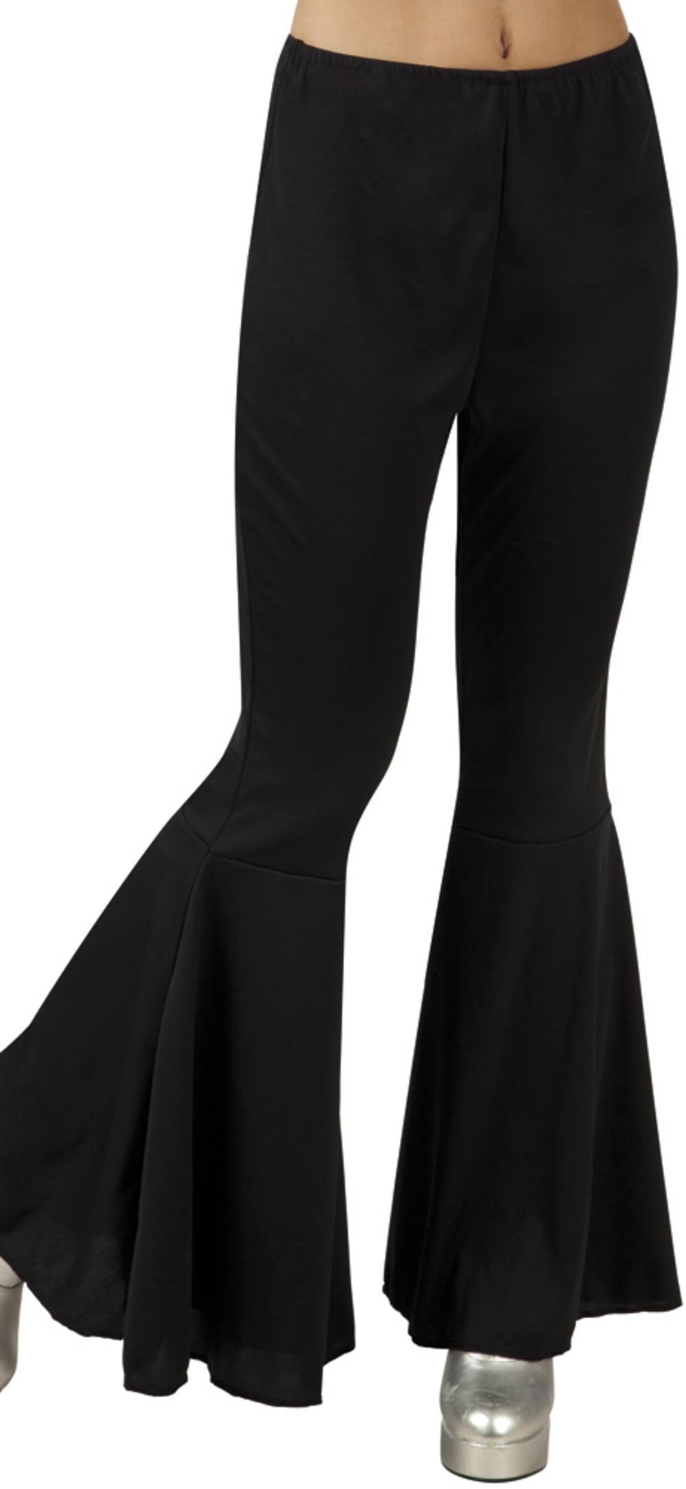 Black Flared Ladies Trousers