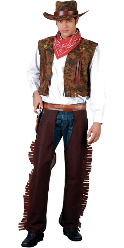 Menu0027s Western Cowboy Fancy Dress Costume  sc 1 st  Mega Fancy Dress : cowboy costume  - Germanpascual.Com