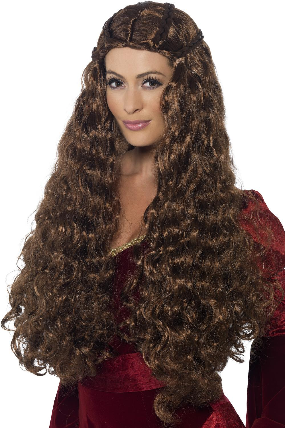 Medieval Warrrior Queen Wig