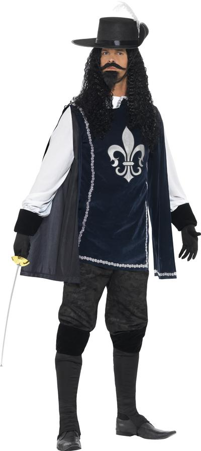 Musketeer Mens Fancy Dress