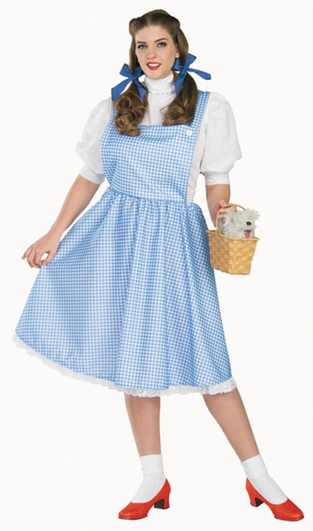 Plus Size Dorothy Wizard of Oz Plus Size Costume