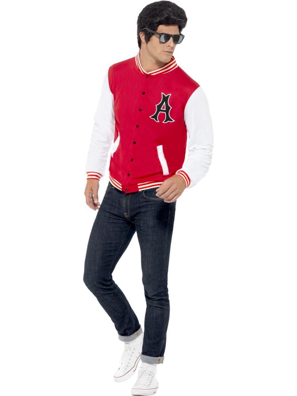 50's College Jock Letterman Jacket