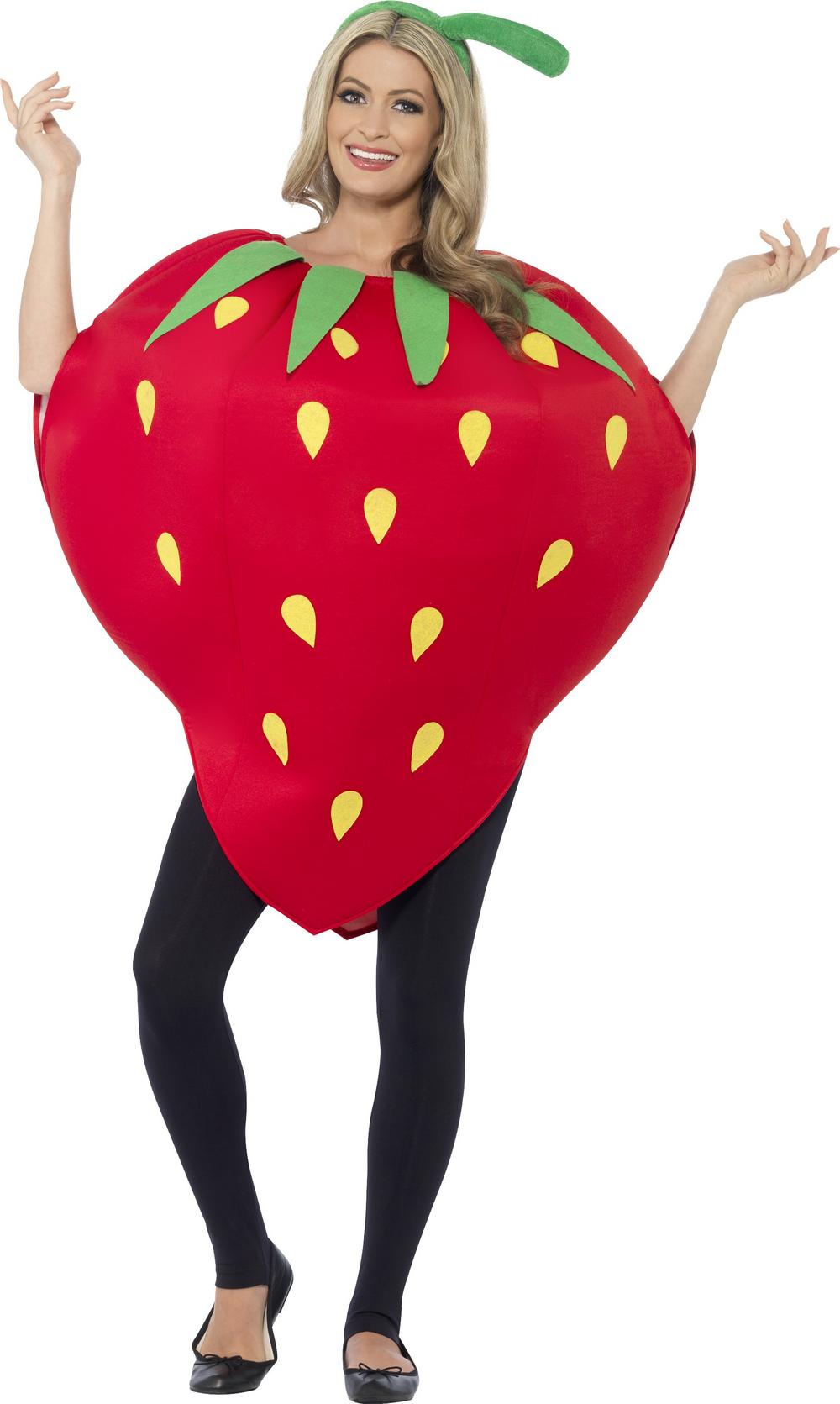Strawberry Adults Costume
