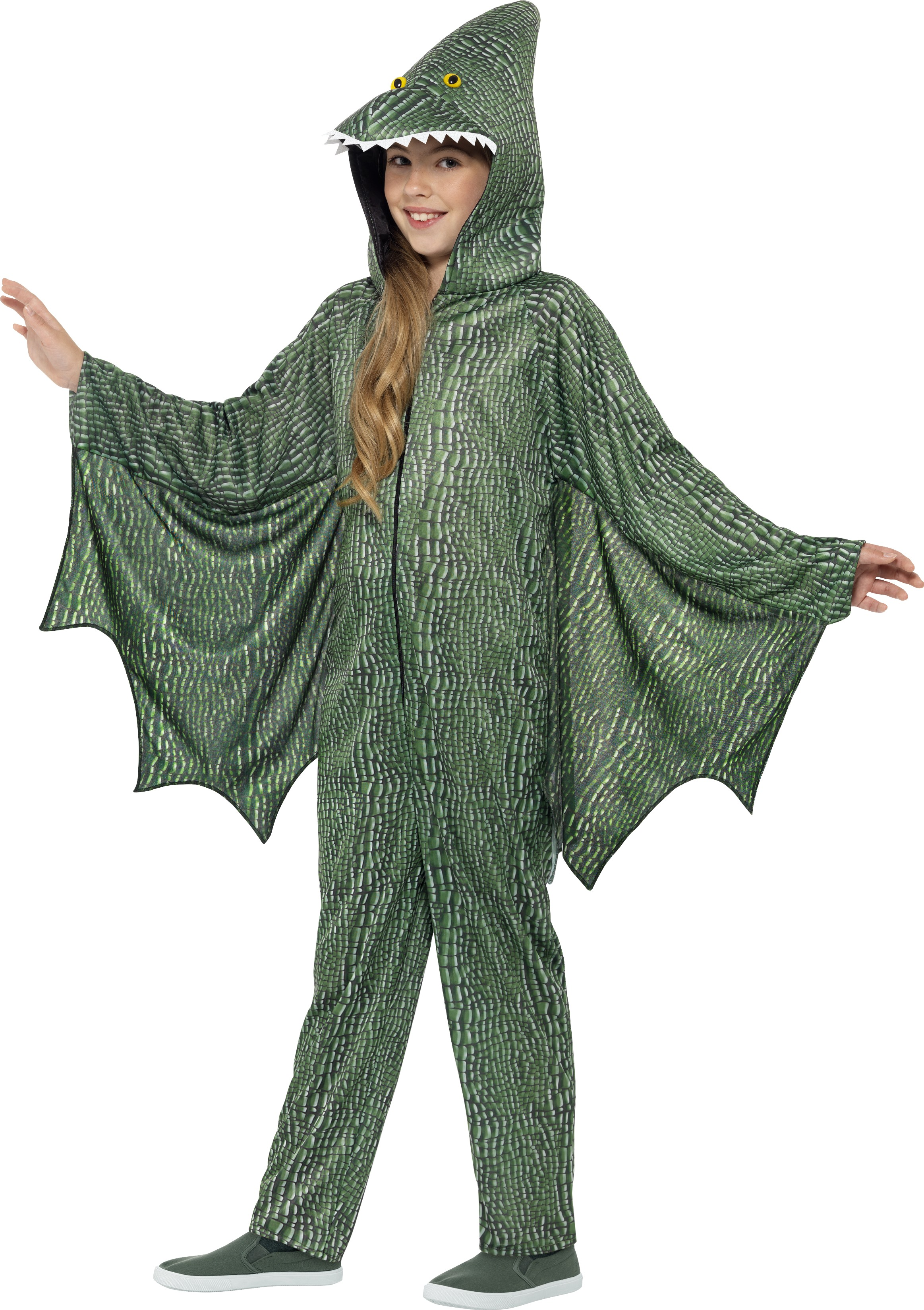 pterodactyl dinosaur kids costume girl 39 s world book day fancy dress costumes mega fancy dress. Black Bedroom Furniture Sets. Home Design Ideas
