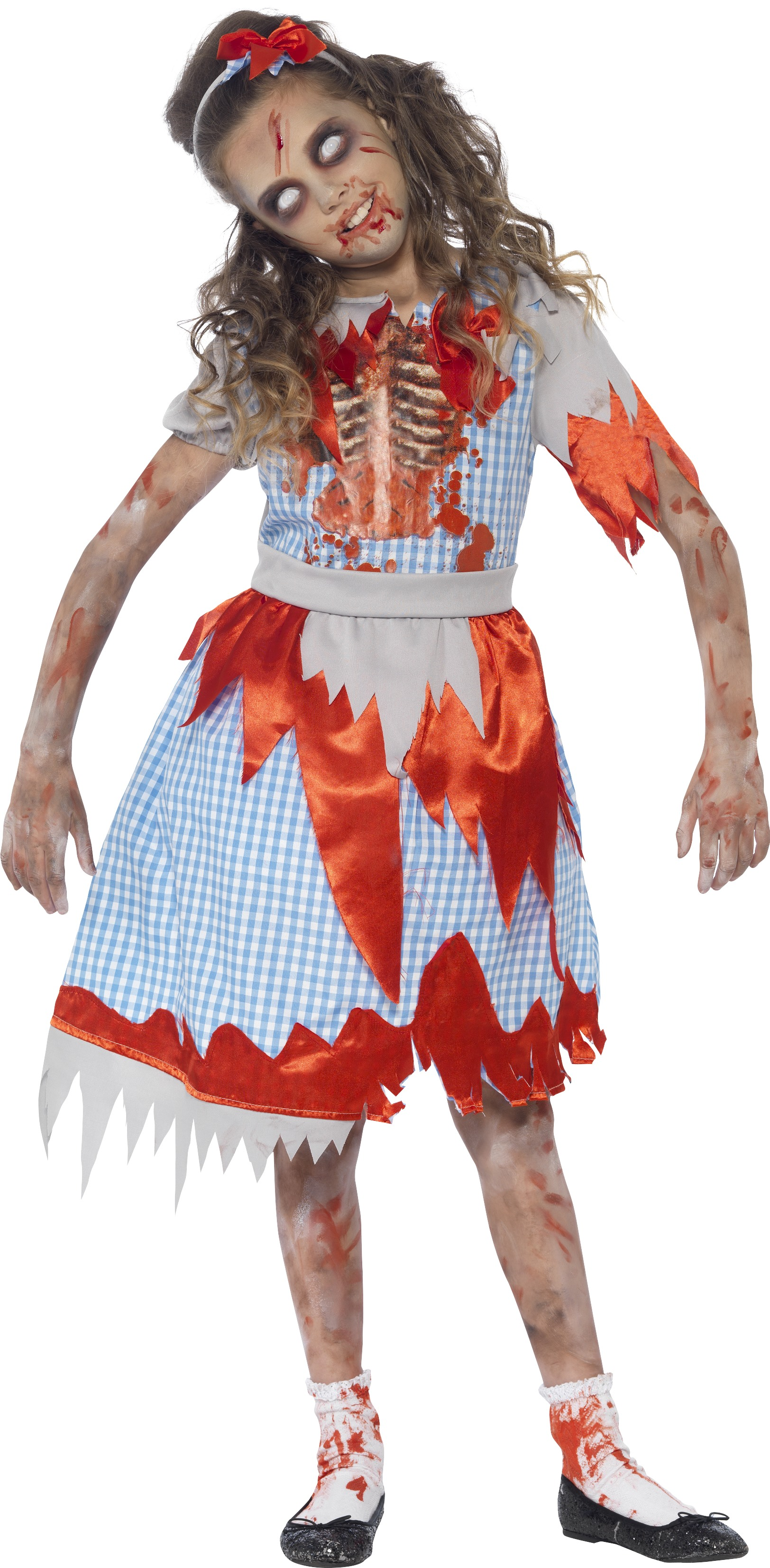 Zombie Country Girl Costume All Halloween Mega Fancy Dress