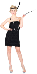 Black Showtime Flapper Costume