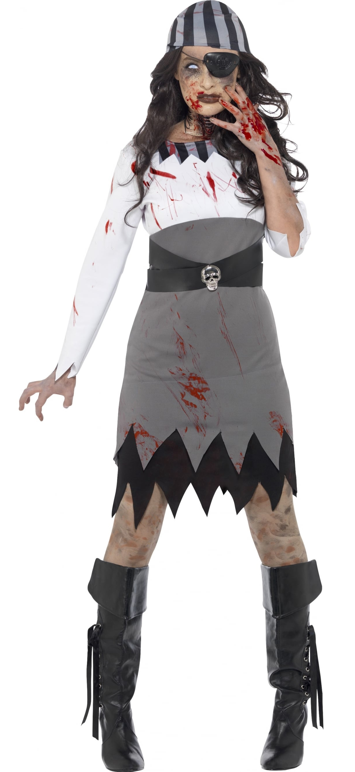 zombie pirate lady costume all ladies halloween costumes. Black Bedroom Furniture Sets. Home Design Ideas