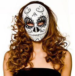 Deluxe Day of the Dead Ladies Mask