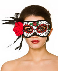 Deluxe Day of the Dead Ladies Eyemask