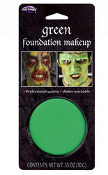 Green Facepaint Makeup