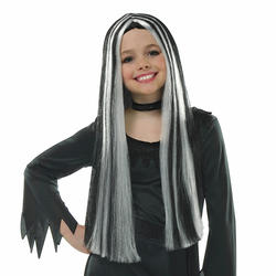 Girls Old Witch Wig