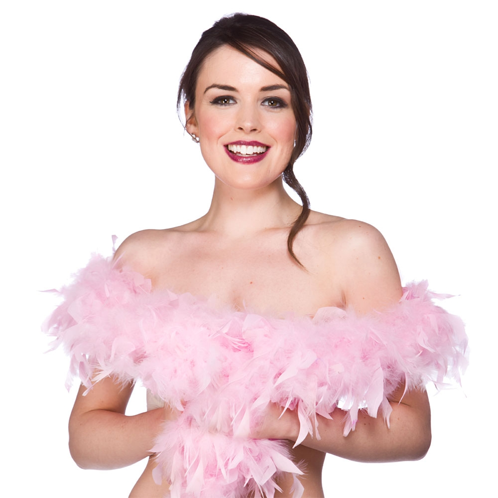 Baby Pink Feather Boa | Special-Offers | Mega Fancy Dress