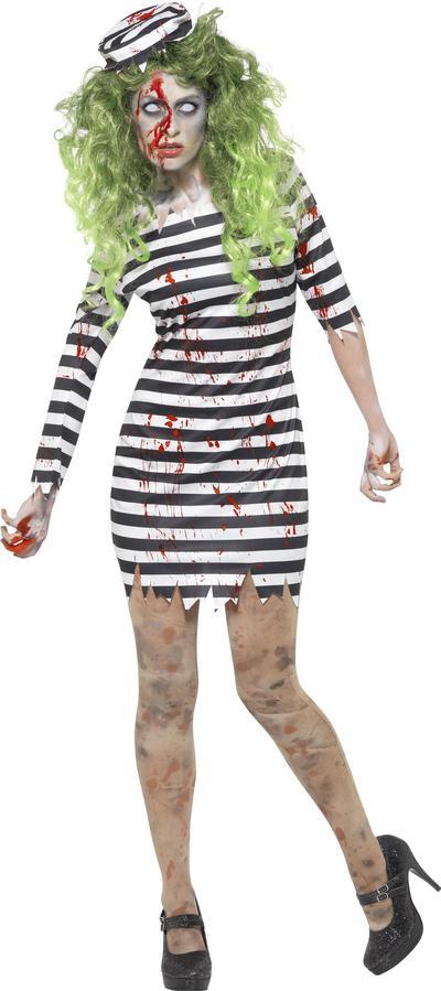 Zombie Jail Bird Ladies Costume