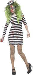 Zombie Jail Bird Ladies Costume