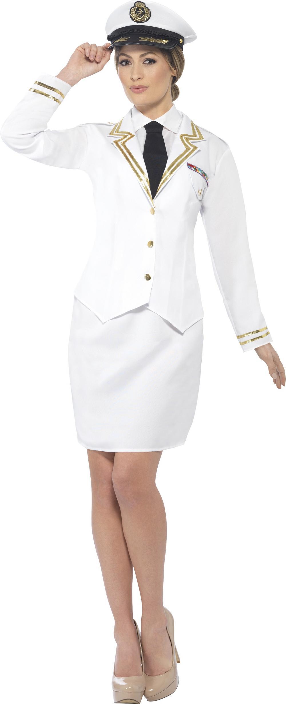 Naval Officer Ladies Costume