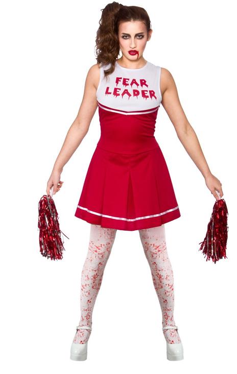 Zombie cheerleader tights ladies fancy dress halloween women sentinel zombie cheerleader tights ladies fancy dress halloween women adults costume solutioingenieria Gallery