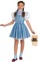 Girls Wizard of Oz Deluxe Sequin Dorothy costume