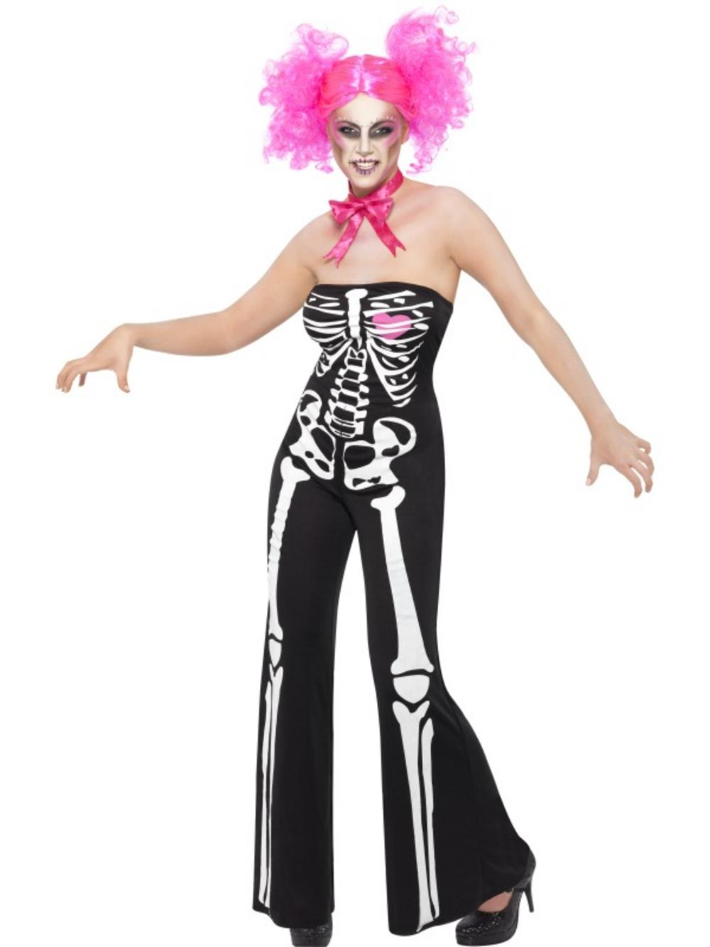 Sassy Skeleton Halloween Costume