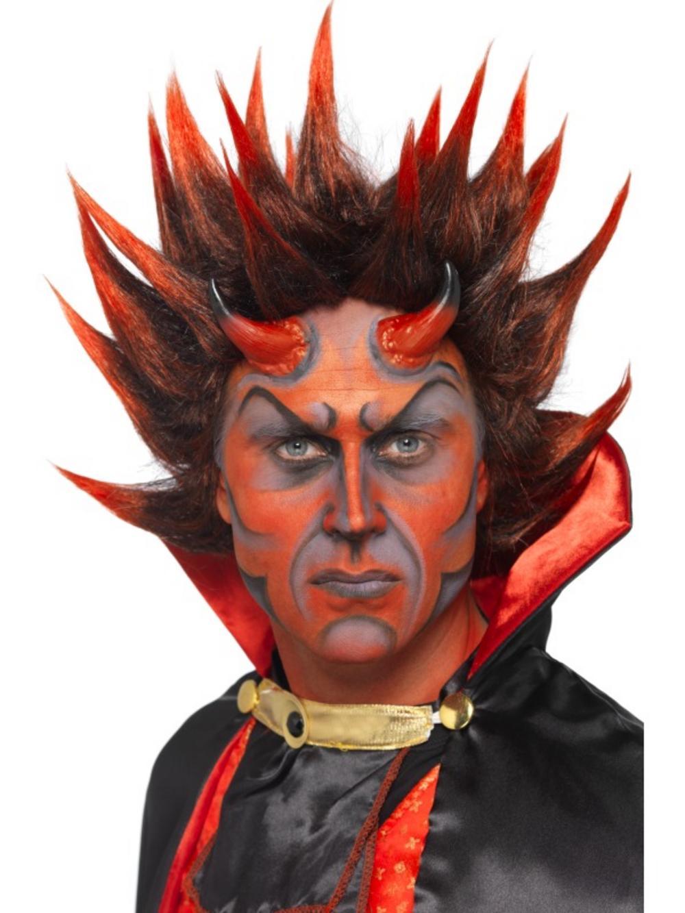 Punky Spikey Devil Wig