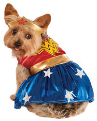 Wonder Woman Pet Dog Costume