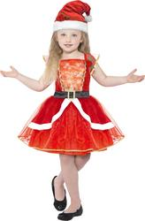Little Santa Girls Costume