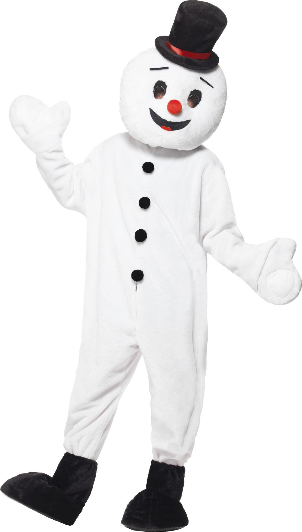 Snowman Mascot Adults Costume
