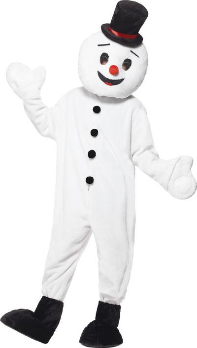 Snowman Mascot Adults Costume